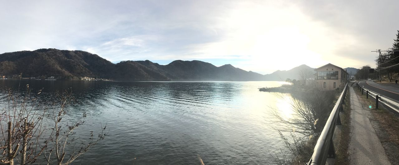 Lake chuzenjiko ..atardecer Scenics Tranquility Cloud - Sky