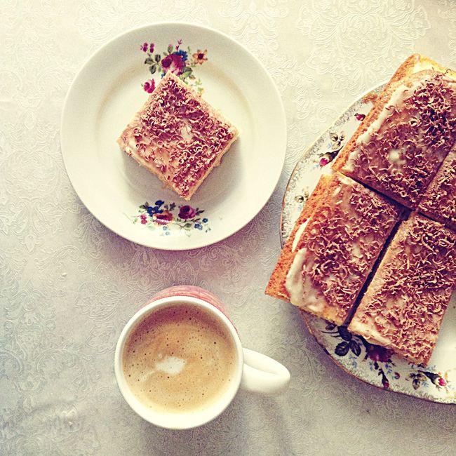 Good morning. Cake from my mummy. Goodmorning Cake♥ Mummylovesme