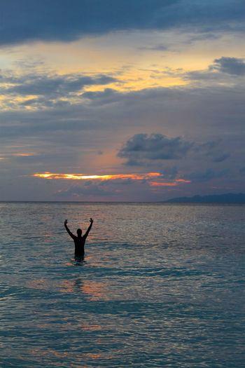 Paradise Sunset Togian Islands...
