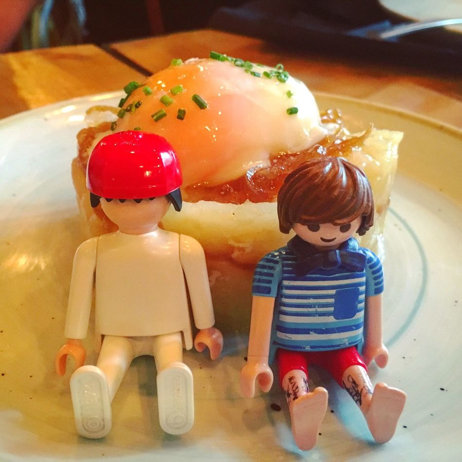 Playmobil Huevo Comida Dieta Egg