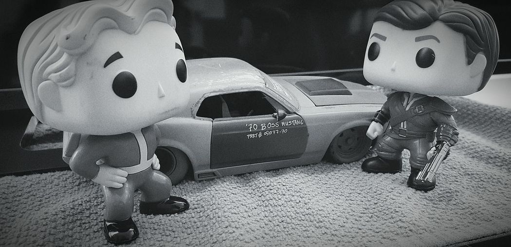 Showcase: January Better Look Twice Adventure Buddies characters from the game Fallout4 Playing With Toys Friends Or Foe Cool Car Check This Out Samsung Galaxy S6 Edge Cellphone Photography Pictureoftheday EyeEmBestPics Blackandwhite Photography Black And White Collection  EyeEm Best Shots - Black + White Collection Adult Toys Don't Touch Hands Off Getting Creative Getting Inspired Zoomzoom