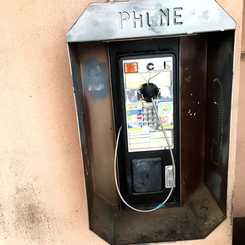 R.I.P Payphones... Payphone Dead Technology Technology Progress Phone Wires Old-fashioned Era Gone By Bygone Times Artifacts Relic Past Outdated Vintage Antiques