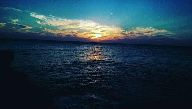 اعشق الغروب 💗Morocco Tanger  Sunset Sunrise Sky Beautiful Nature Nofilter Sun Amazing Instagood by me Instapic