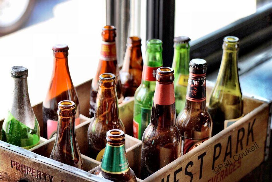 Beer Beer Bottle Bottles Hanging Out