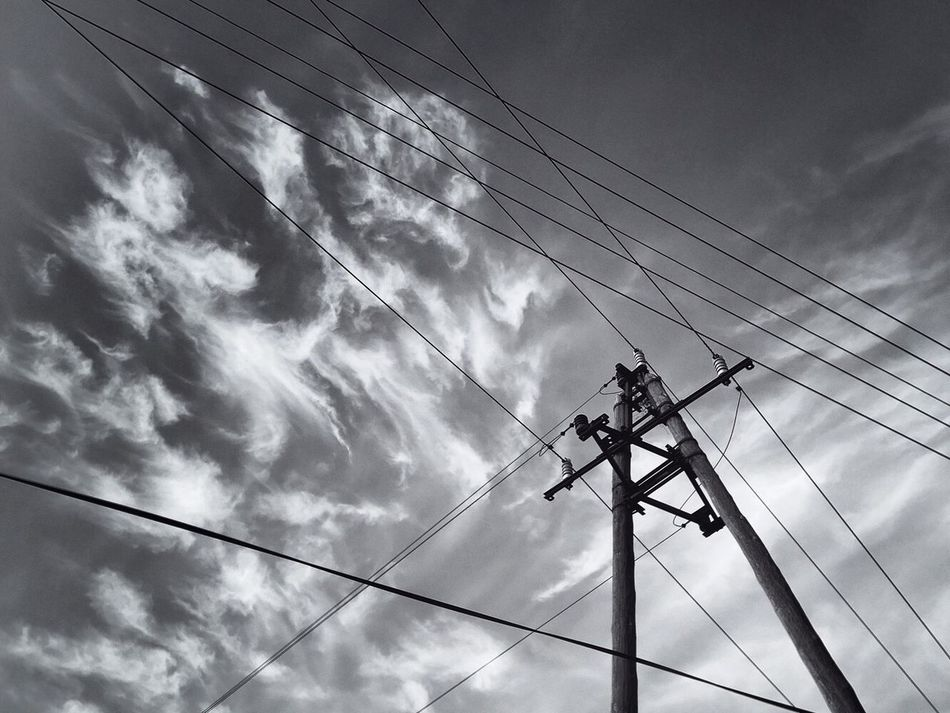 Rule of everything Power Supply Connection Power Line  Electricity  Cloud - Sky Low Angle View Sky Technology Fuel And Power Generation Electricity Pylon Day No People Outdoors Complexity Telephone Line Nature