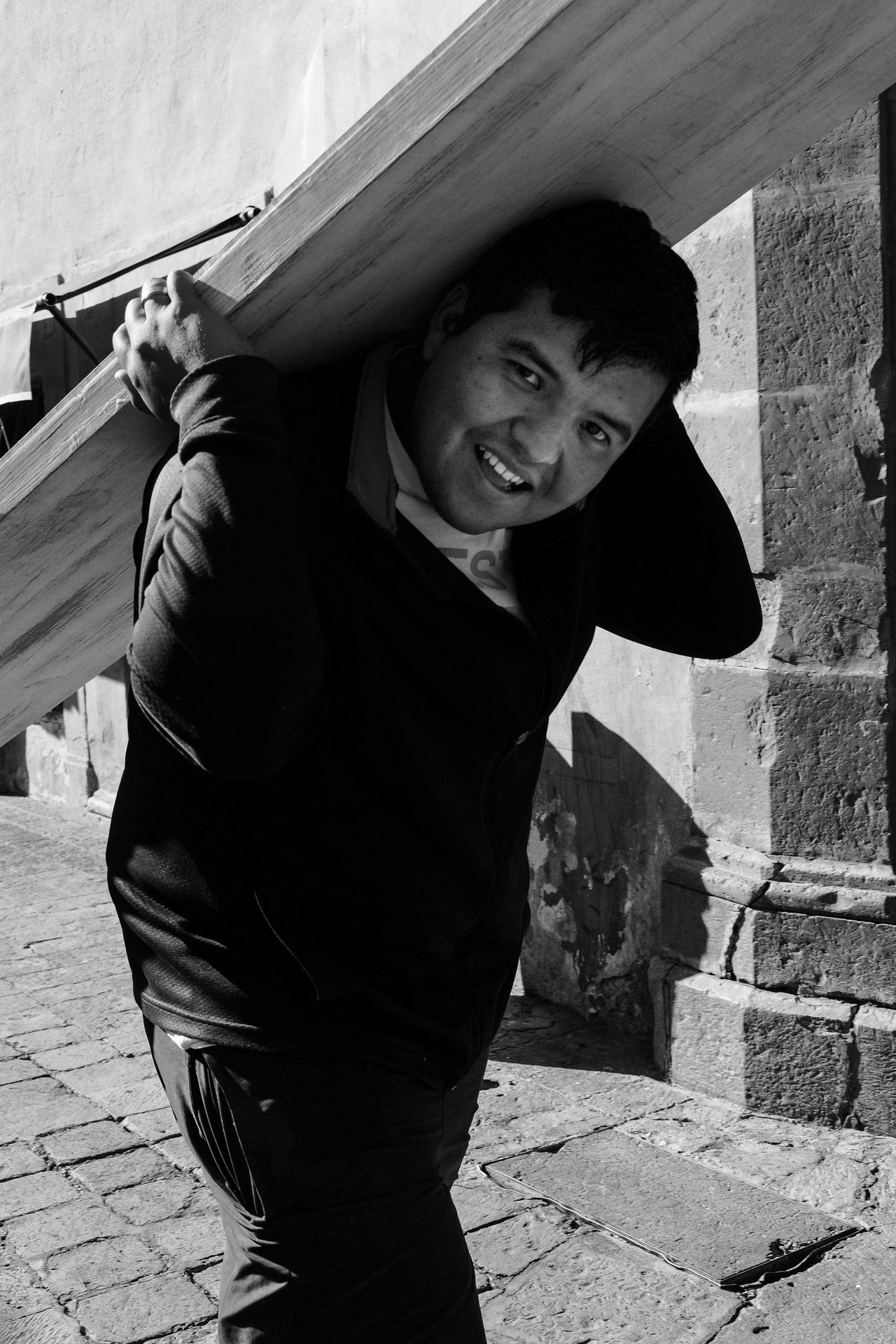 24 Hour Project Seoul Boy Carrying Casual Clothing Day Front View Leisure Activity Lifestyles Mexico Mexico City Outdoors Person Portrait Queretr Smiling Standing Toothy Smile