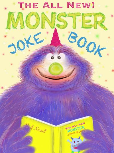 I created this book with one finger on ipad Kids Childrens Jokes Funny