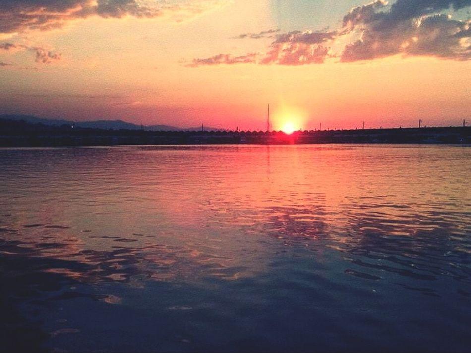 Trabzon Gun Batımı Deniz Dingin Müzik Kahve