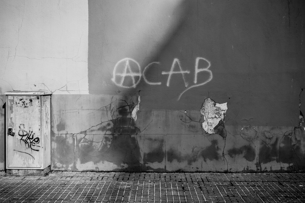 Graffiti Text Sidewalk Street Fragments Of Life Things I See