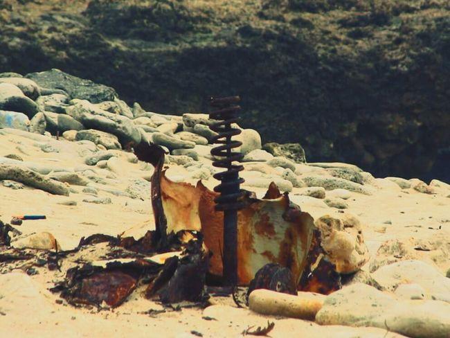 Rusty Autos Rusty Spring Decomposing Sandy