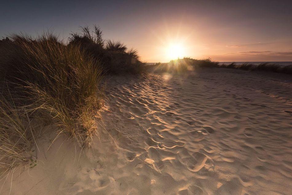 Dune Dusk Nature Beauty In Nature Sunlight Sunset Tranquility Sand Sandy Beach Sand Patterns Beachphotography Beach Sunset Seaside Hunstanton Travel Destinations EyeEm Gallery Scenics EyeEm Masterclass Norfolk Uk Sand Dune Sky And Sand The Secret Spaces