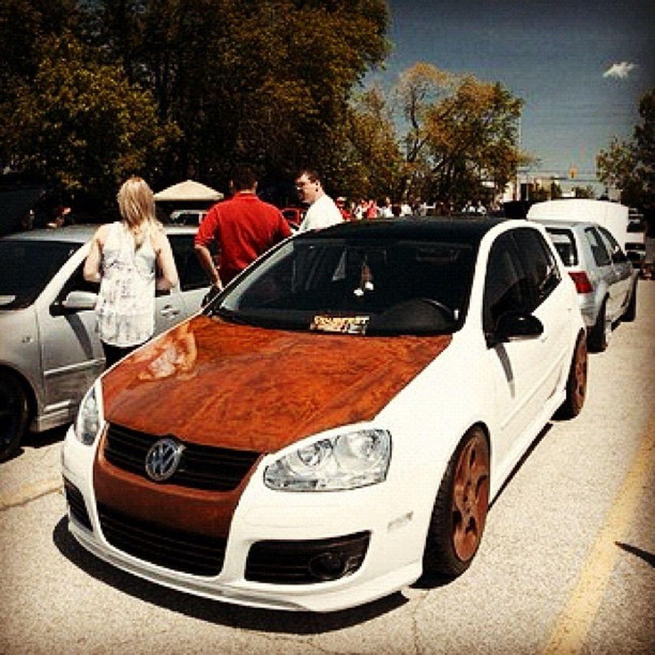 VW Volks Volkswagon Custom Hatchback Woodfinish Sexy Pimp