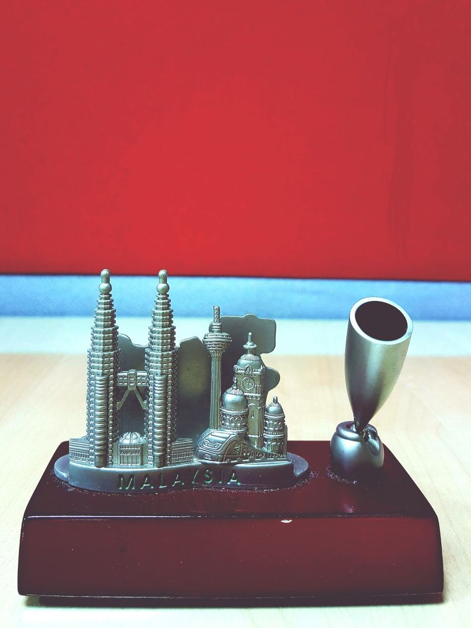 Pen Holder Desktop Card Holder KLCC Tower Menara Kuala Lumpur Indoor No People Lieblingsteil