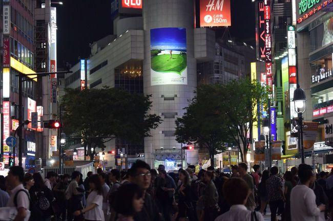 渋谷スクランブル交差点 People City Japan Night Streetphotography Person