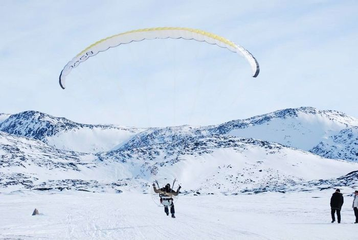 The Real Greenland Enjoying Life Check This Out Speed Limit Wintertime Hanging Out Flying Fly Away Flyaway Snowman Wonderfuld Greenland EyeEm Masterclass Flying Low