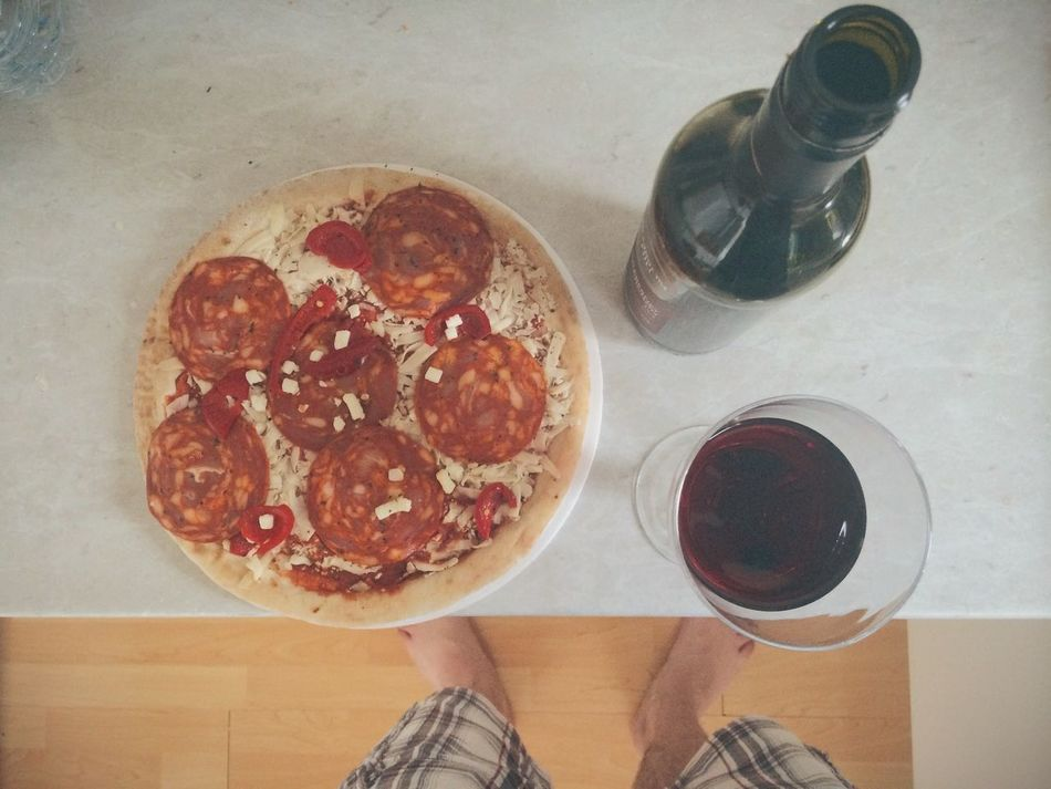 Beautiful stock photos of pizza, Barefoot, Bottle, Day, Drinking Glass