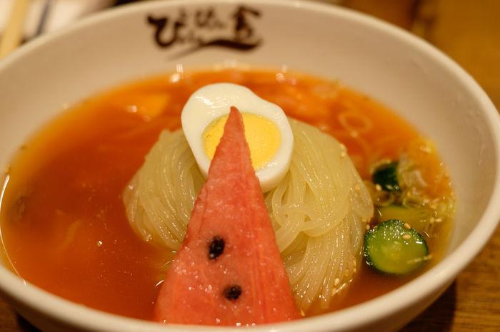 ぴょんぴょん舎の冷麺 Cold Noodles Cooked Food Food And Drink Foodporn Fujifilm Fujifilm X-E2 Fujifilm_xseries Gourmet Japan Japan Photography Meal Ready To Eat Ready-to-eat ぴょんぴょん舎 冷麺