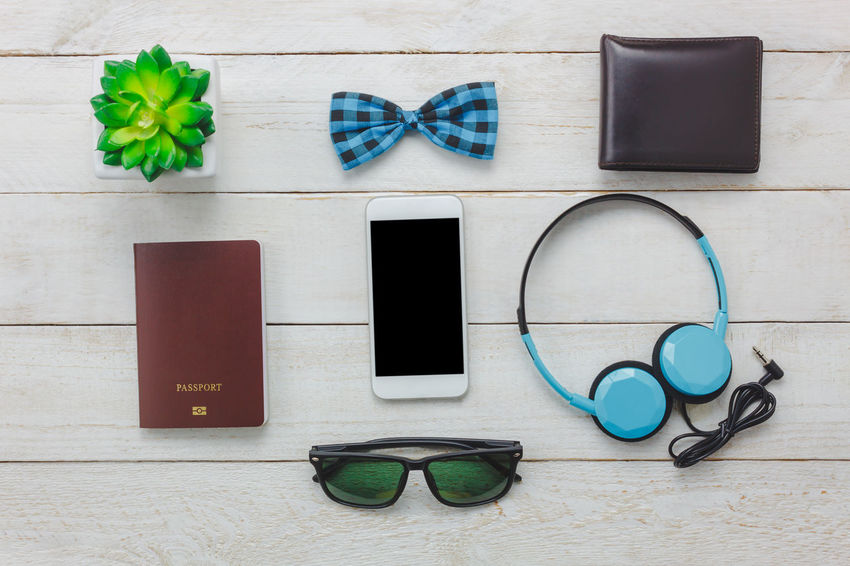 Arrangement Communication Day Directly Above Eyeglasses  Headphones Indoors  Mobile Phone Neat No People Office Portable Information Device Smart Phone Sunglasses Technology Wireless Technology