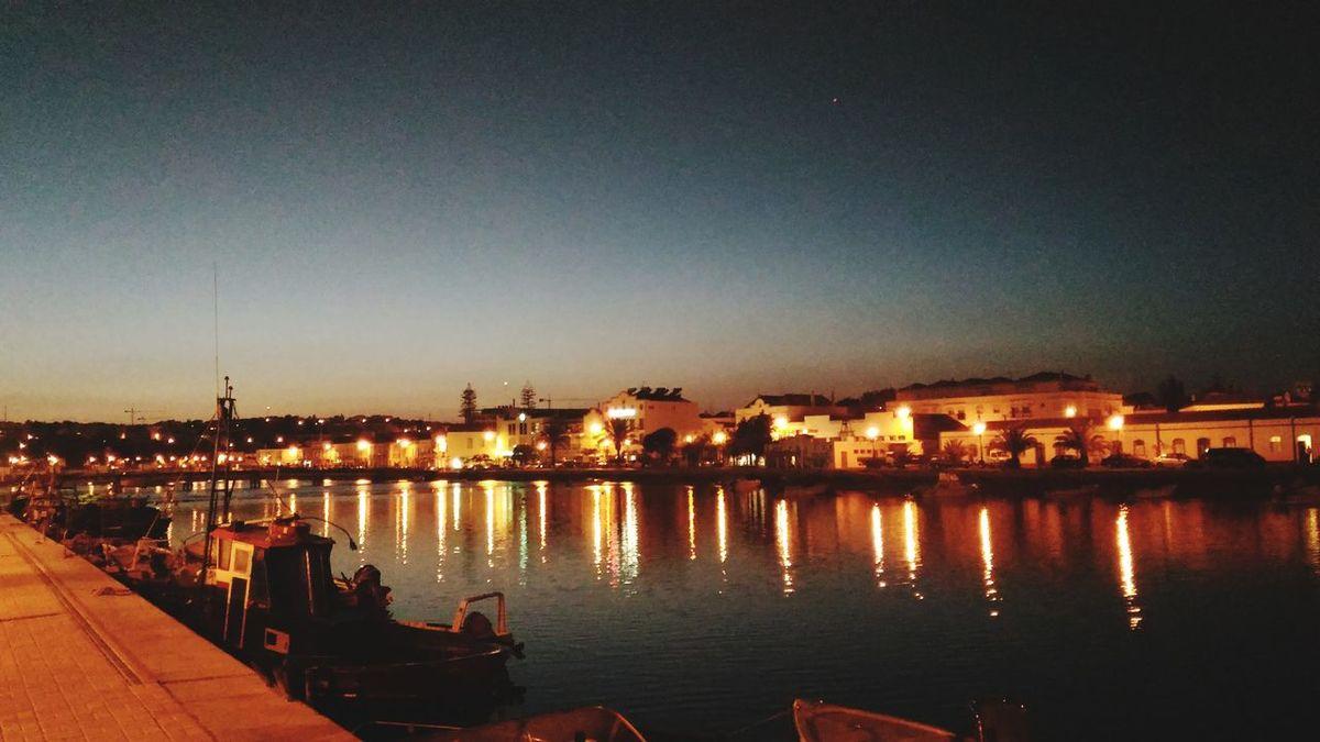 Tavira, Portugal Night City