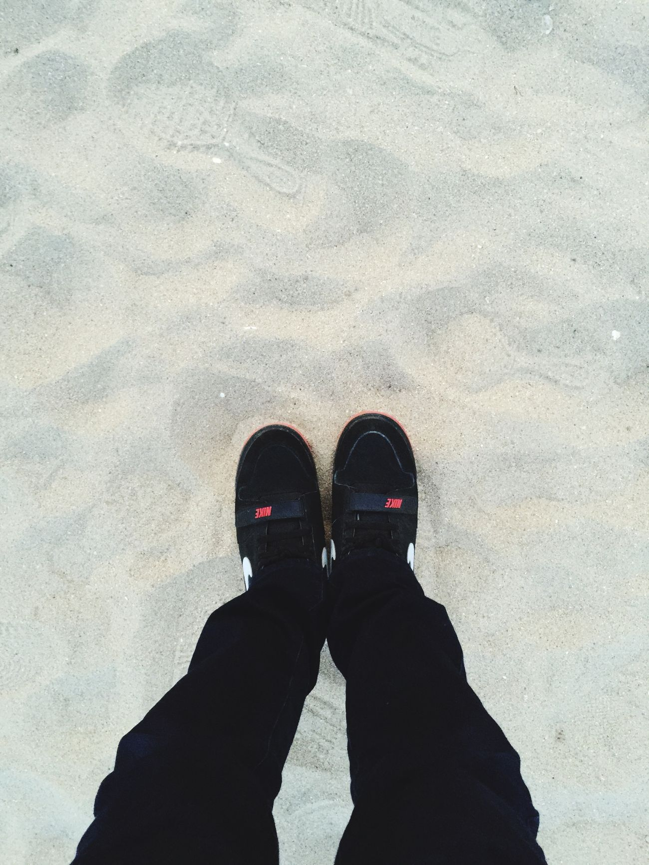 Iphone6plus IPhoneography Traveling In Busan Beach Photography Sand Springtime April Relaxing Sea