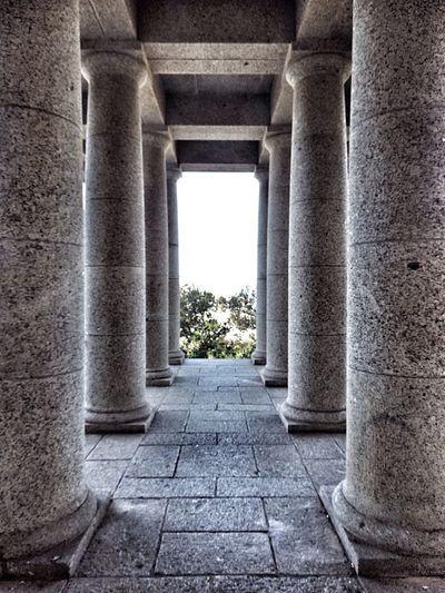 Pillars of Strength Granite Pillars Granite Columns Columns In A Row Part Of National Monument Pillars Of Support