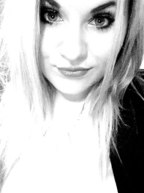 Big Eyes♡ Kisses Blonde ♡ Hello World Black & White Schwarzweiß Beauty Goodmorning Happy Easter Mascara #JL :*