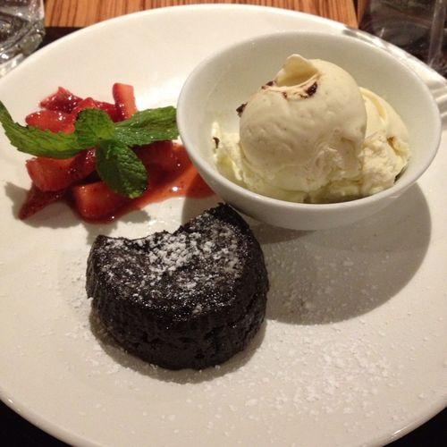 Dessert From Last Night... Yum!!!