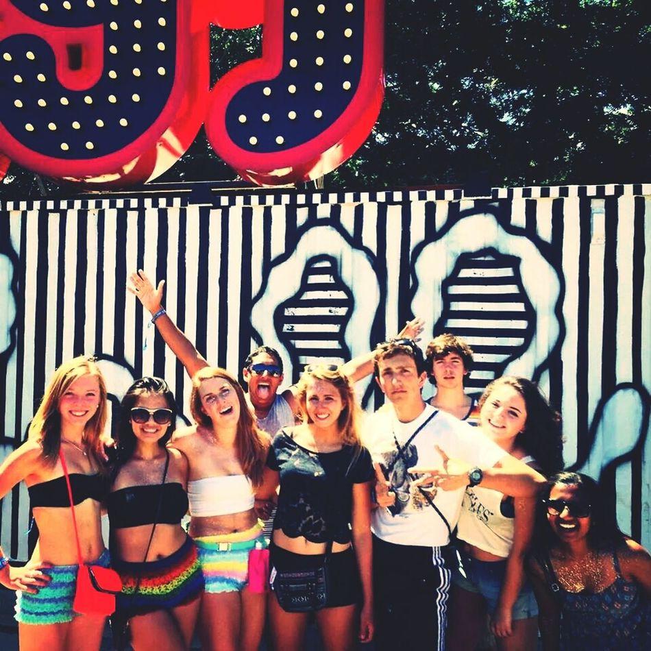 Lolla 2013 ❤ Bestcrew Enjoying Life