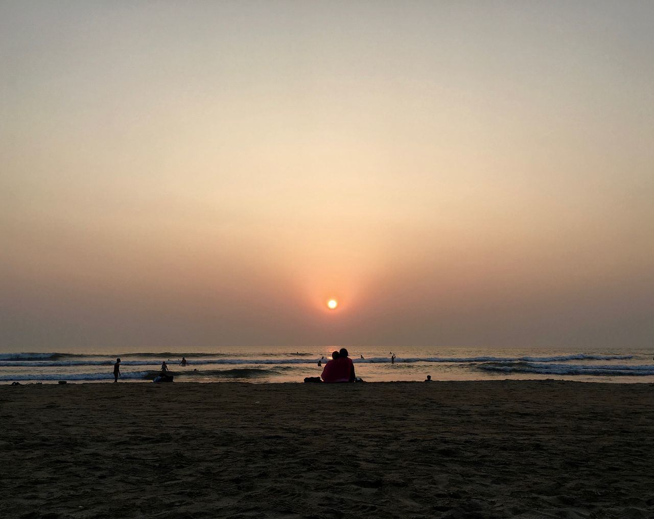 Goa Love Arambol Arambol Beach Goa Beach Beauty In Nature Countryside Goa Horizon Over Water Idyllic Love Low Angle View Nature Outdoors People Scenics Sea Sun Sunset Two People Unrecognizable People Vacations Watching The Sunset Water