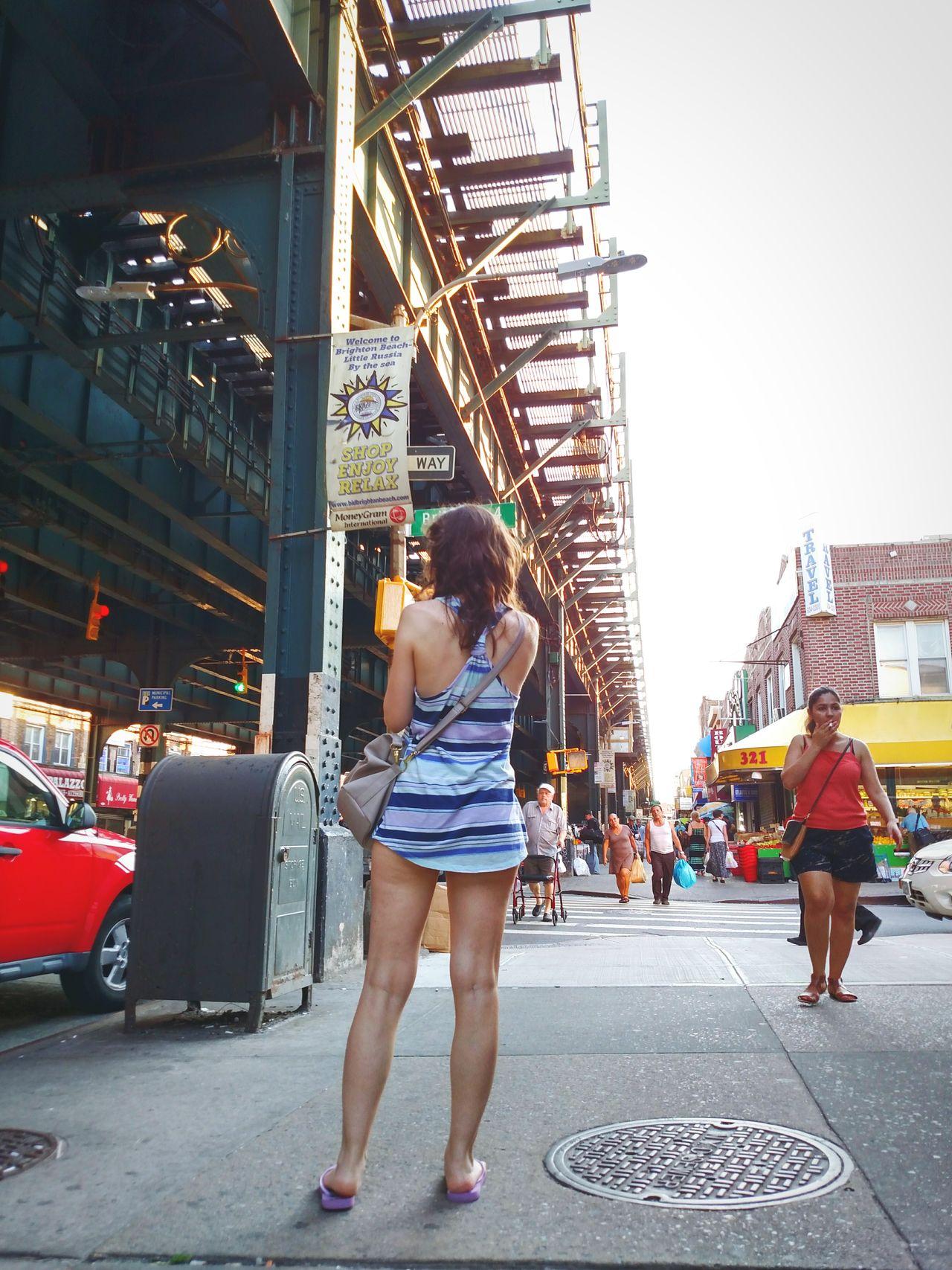Urban Lifestyle Street Photography NYC Girl Sexylegs Perspective People Sexygirl Eye4photography  City
