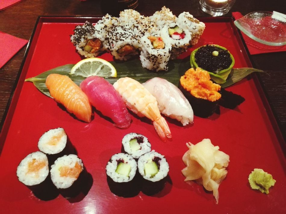 Awesome Sushi for Dinner. Expensive Delicious Dish