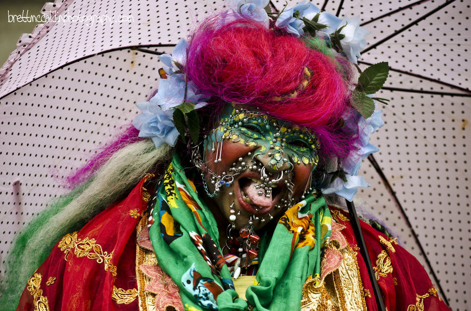 Body Piercing Colourful Festival Guiness Worldrecord Human Representation Piercings Portrait Street Performer Tounge Urban Lifestyle Urban Portrait