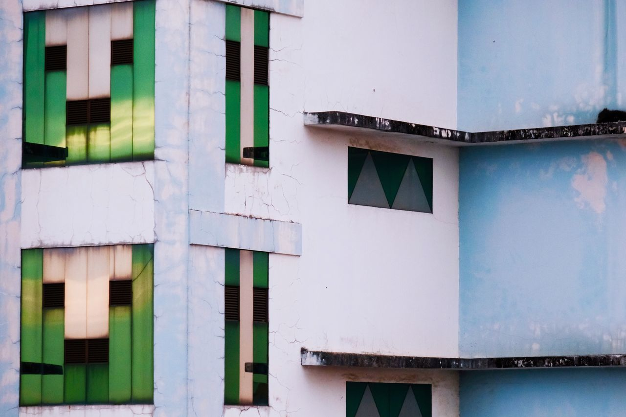 Architecture Building Exterior Built Structure No People Outdoors Day Design Colors Lines Lines And Shapes Architectural Feature Architectural Detail Urban Face Smile EyeEm Gallery EyeEm Best Shots Check This Out Popular Photos City The City Light in Yangon , Myanmar