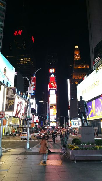 Times Square 1am - NYC