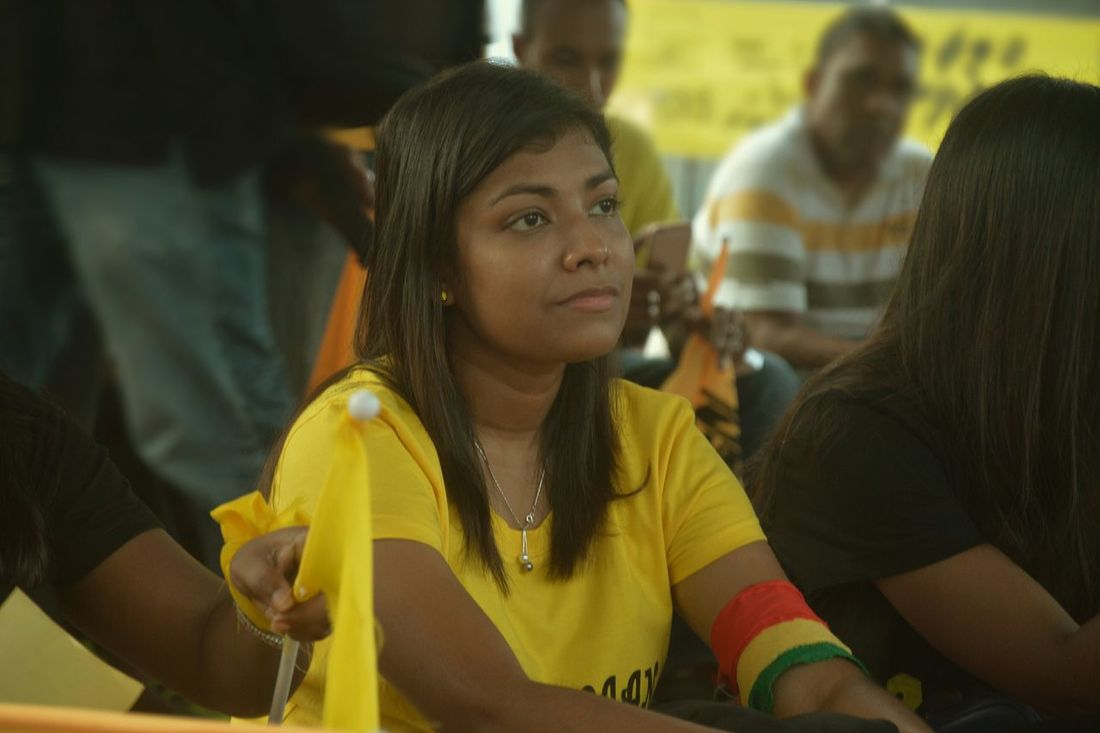 Cam with MDP 27 November 2015 Minjvaan.. Male'city Maldives
