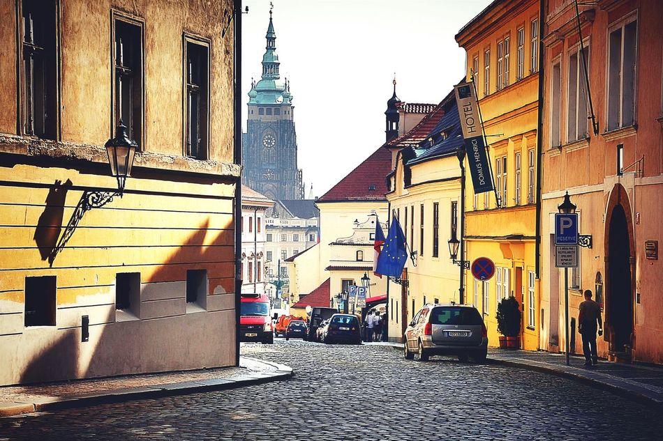 An Early Morning walk through Prague. Cityscapes Czech Republic Traveling EyeEm In Prague