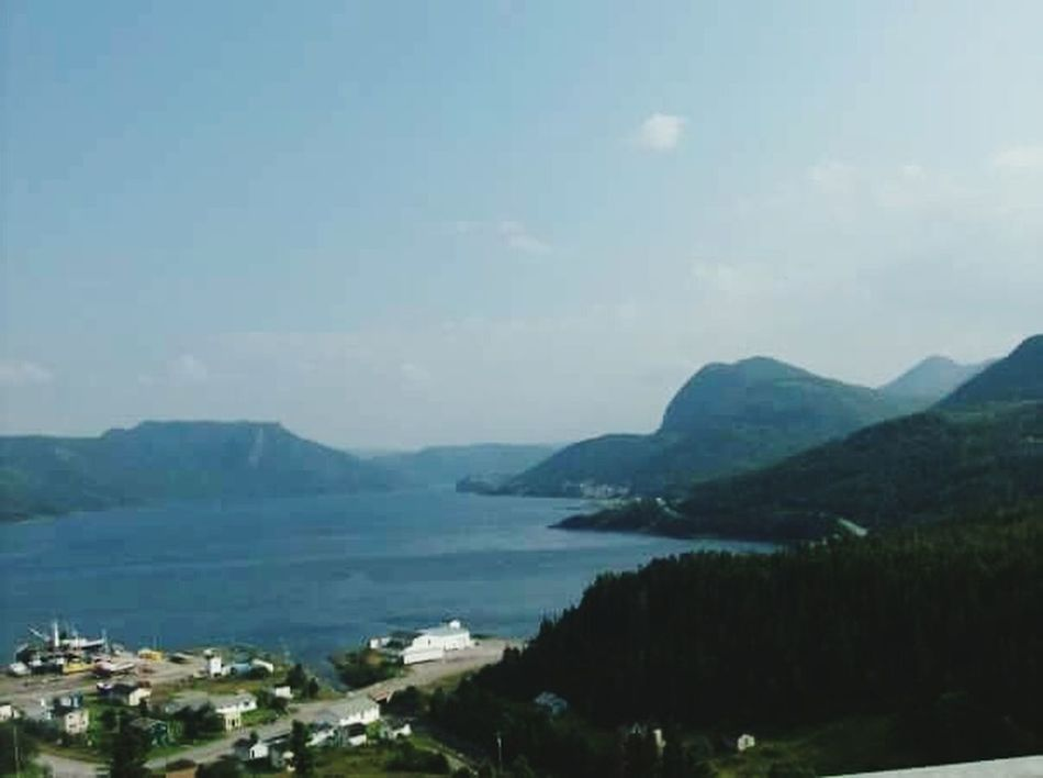 Mountain Scenics Beauty In Nature Tranquility Mountain Range Outdoors Tree Sky Tranquil Scene Landscape NFLD Nature Water Day