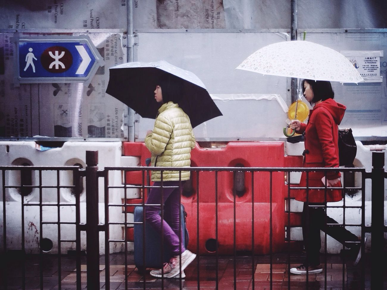 Rain, Red, and Gold on Haiphong Road Street Photography By @Chyan Streetphotography Eye4photography  AMPt_community