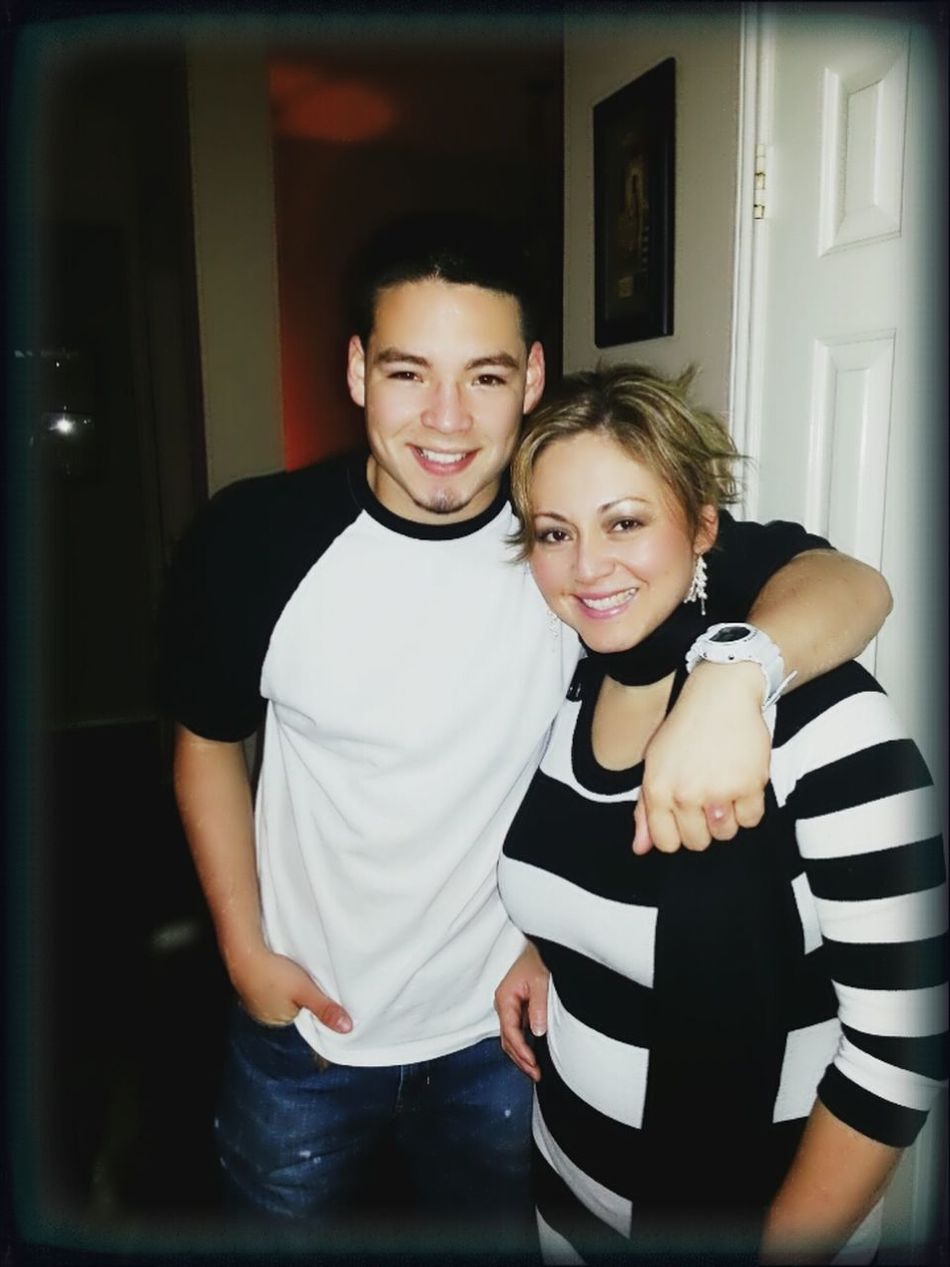 My Momma And I!