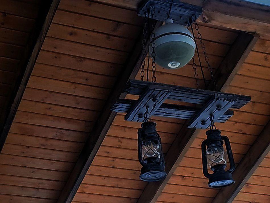 Old Lamps Tavanarası Ahşap Evler Ahşaptavan Old Lamps El Lambası Avize Attic Old Time Malatya, Turkey Built Structure No People Architecture