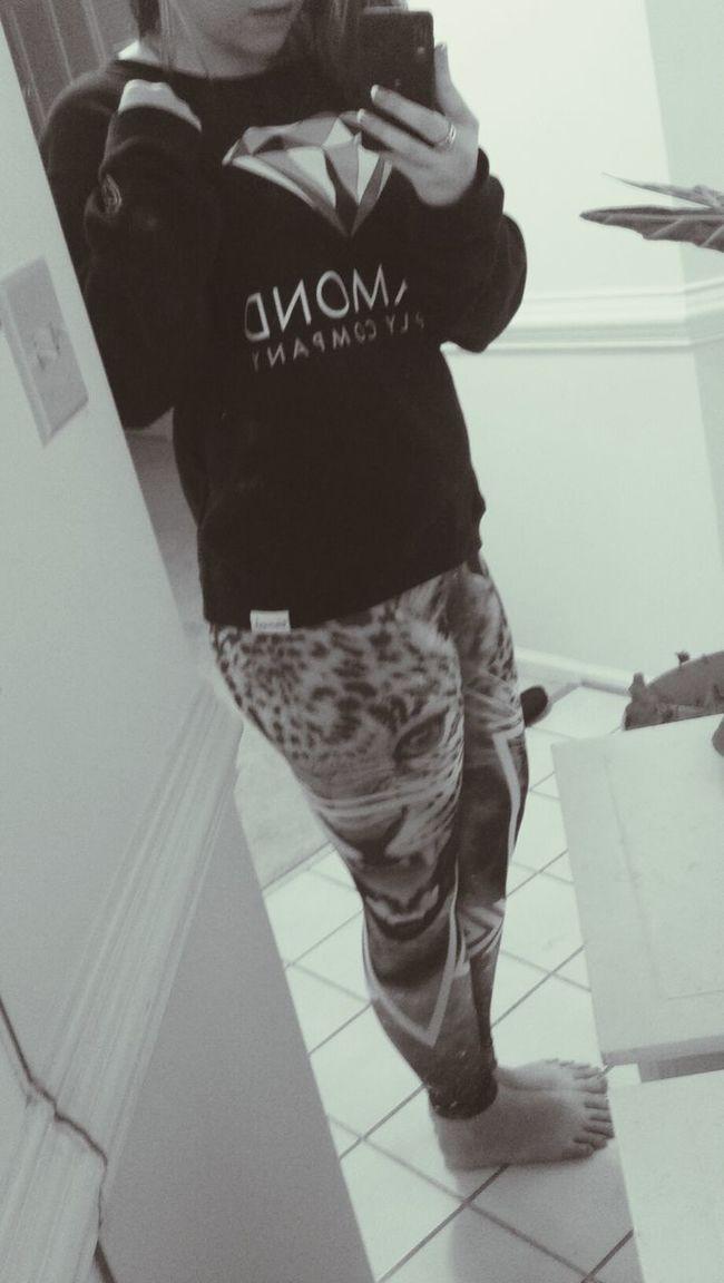 My Leggings :) & Diamondsupplyco Bootyfull