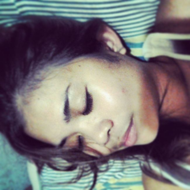 Happily dozing off, knowing everything's turned out not just fine, but Great! Goodnight Igers Dozingoff Igcapture Igshot