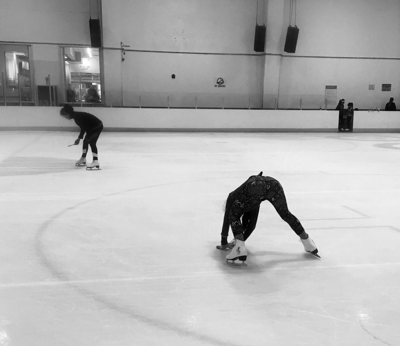 Figure Skating Chasing Ice Patching ice like the locals! 😎⛸🌴