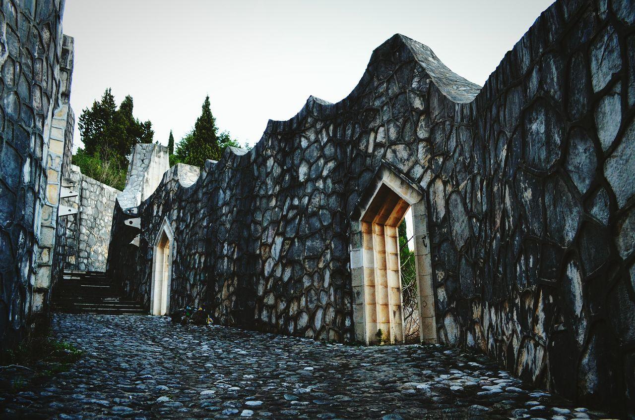 The Architect - 2015 EyeEm Awards Amazing ArchitecturePartisan's Graveyard Architecture Notes From The Underground Mostar Bosnia Herzegovina Graveyard Beauty
