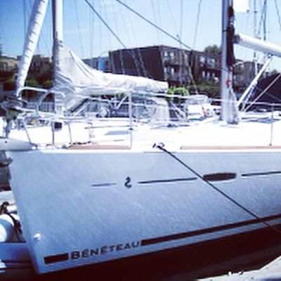 Birthday plans in full affect. Sail boat...check. 40ft of weekend fun✨??⛵️♎️