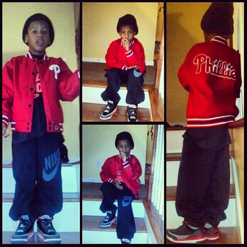My Lil Brother This Morning