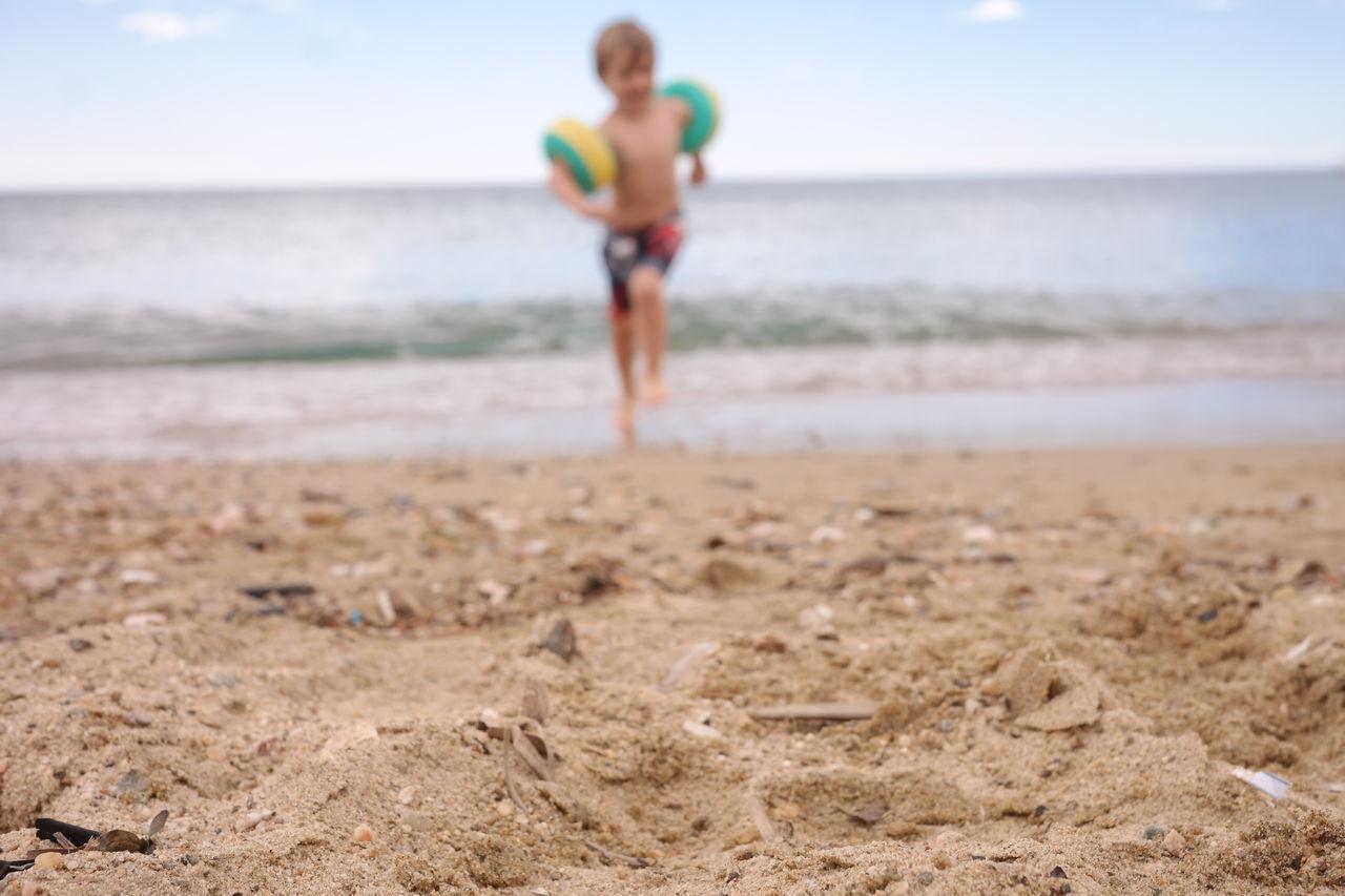 Beautiful stock photos of action, Beach, Blurred, Boys, Calm