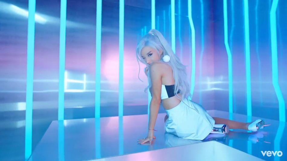 Holographic Ariana Grande ♥ Focus Iridescent  Neon Pop Princess