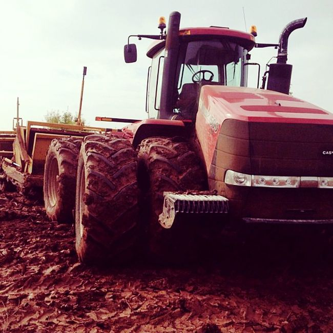 Dirt Tractor Dirt Tractor Big Red Case Ih Land Level Louisiana