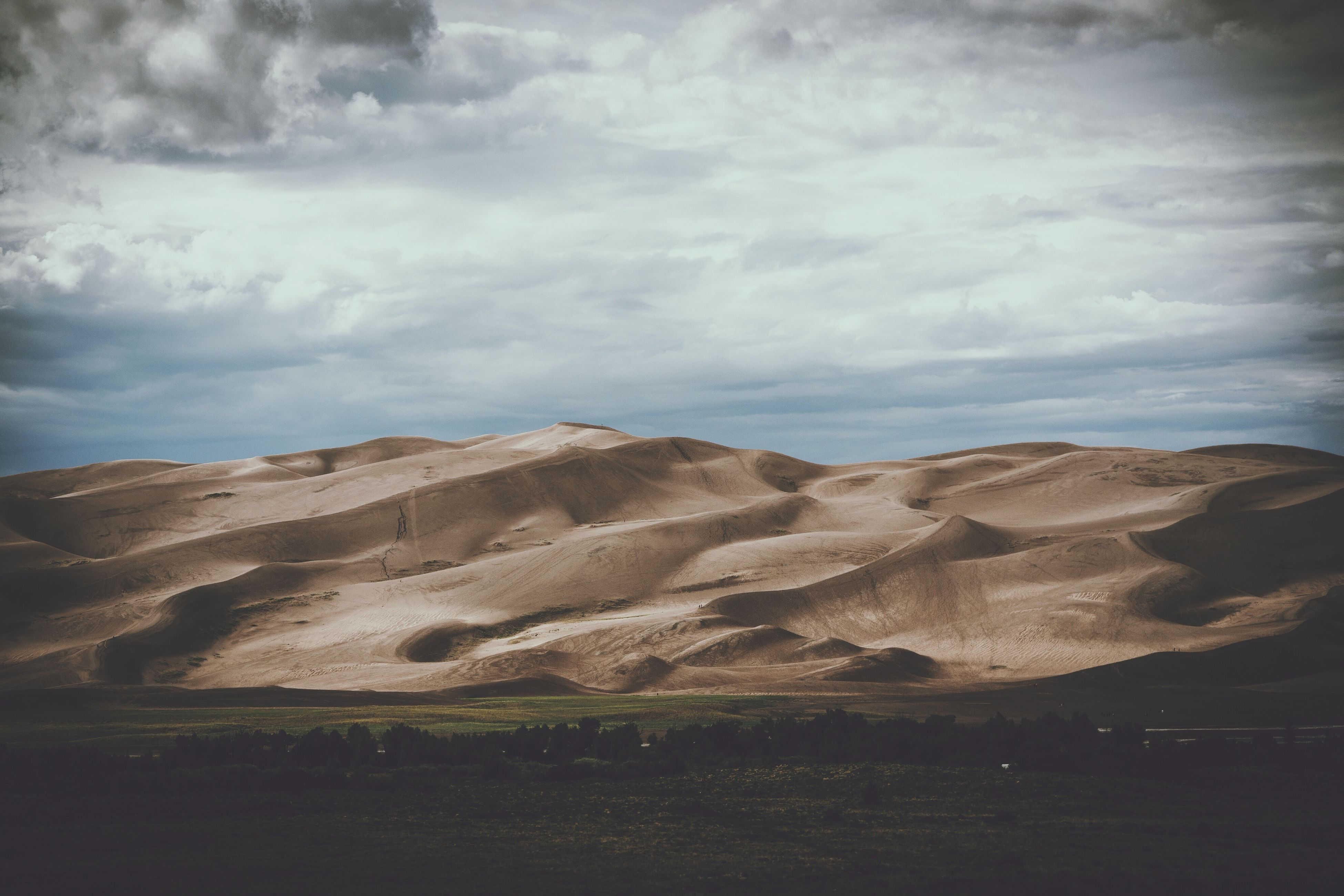 nature, sand, sky, sand dune, tranquility, landscape, no people, scenics, beauty in nature, day, tranquil scene, cloud - sky, outdoors